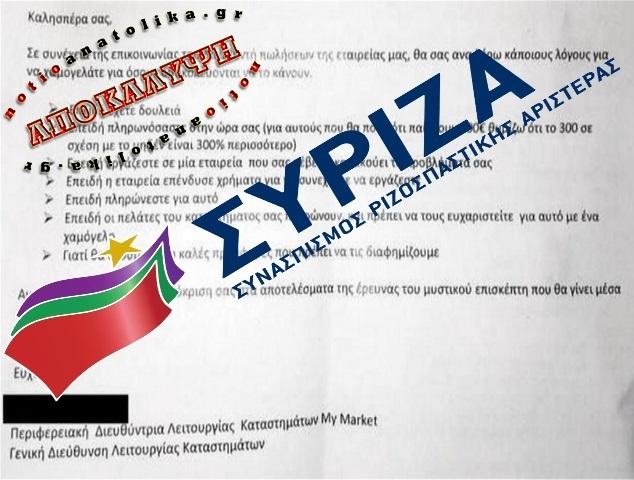 syriza mymarket